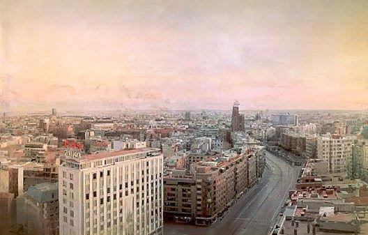 Antonio Lopez, Madrid Desde las Torres Blancas, 1982